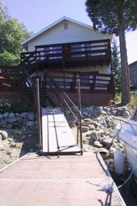 Back Deck from Dock